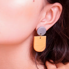 Load image into Gallery viewer, Amber (Color Options) - earpartyph ear party ph polymer clay earrings philippines