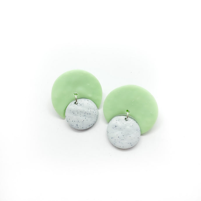 Moon - earpartyph ear party ph polymer clay earrings philippines