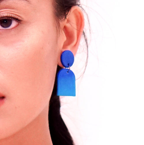 Ocean - earpartyph ear party ph polymer clay earrings philippines