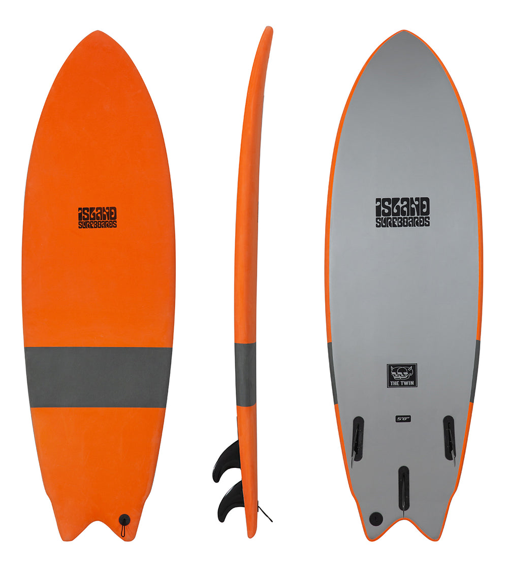 THE TWIN 5'8 - SOFTBOARD