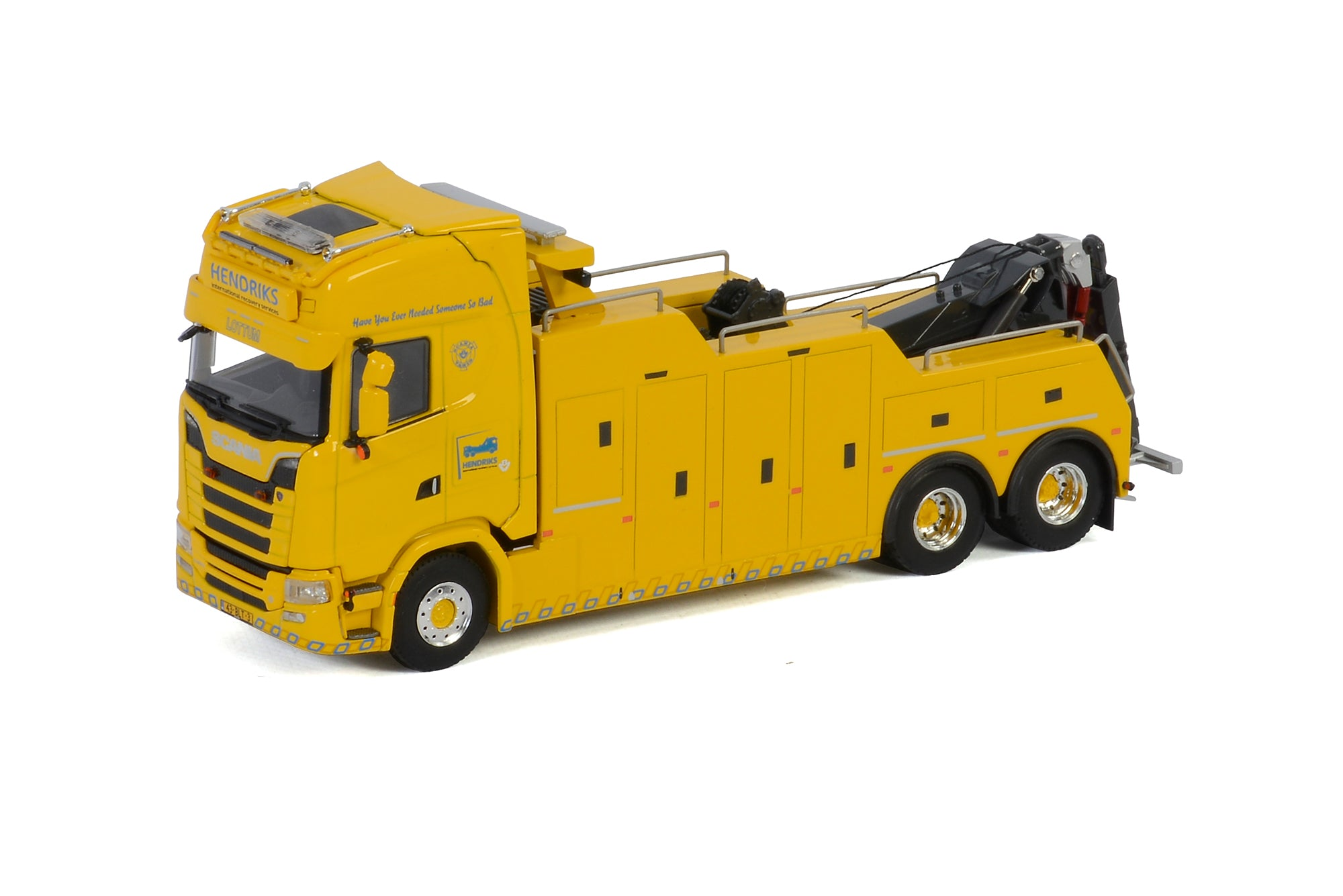 Scania S650 Recovery Truck