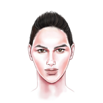 Face Shape: Men's Diamond