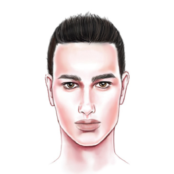 Face Shape: Men's Oblong
