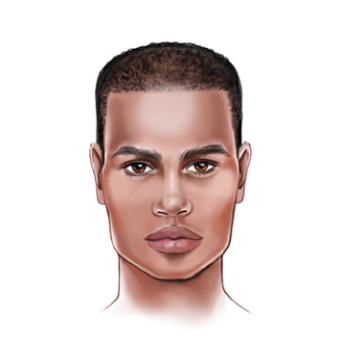 Face Shape: Men's Square