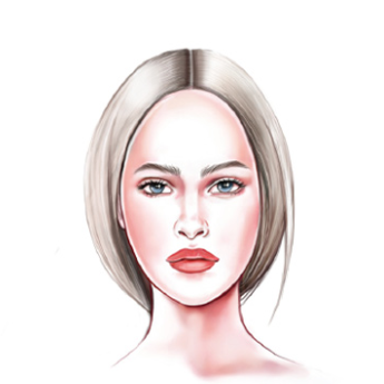 Face Shape: Women's Oval