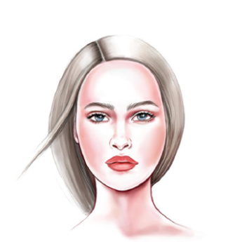 Face Shape: Women's Round