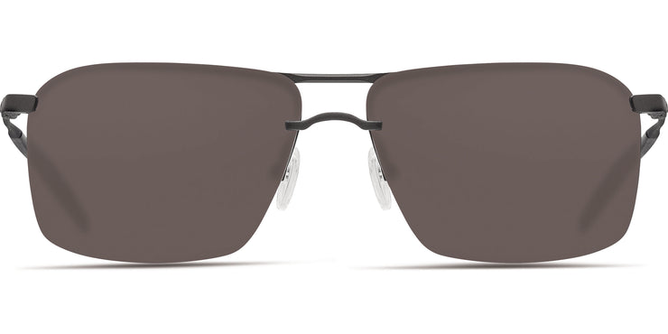 Costa Skimmer MT Black-Gray 580P Rectangle Sunglasses