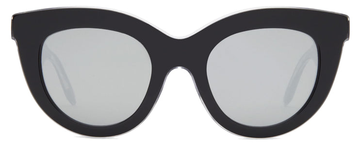 Victoria Beckham VBS103 C10 Layered Cat-Eye Sunglasses