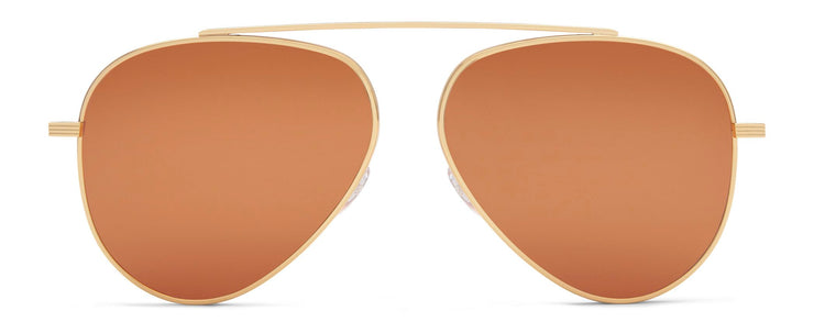 Victoria Beckham VBS136 C02 Single Bridge Aviator Sunglasses