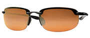 Maui Jim Ho'okipa H407-02 Polarized Rimless Sunglasses