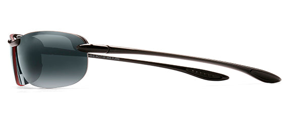 Maui Jim Makaha 405-02 Polarized Rimless Sunglasses