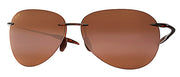 Maui Jim Sugar Beach H421-26 Polarized Rimless Sunglasses