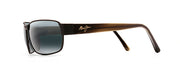 Maui Jim 249-2M Black Coral Polarized Rectangle Sunglasses