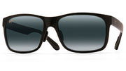 Maui Jim Red Sands M Black-Gray Rectangle Sunglasses
