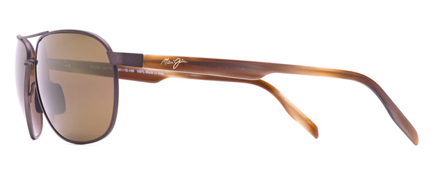 Maui Jim 728-01M Castles Aviator Sunglasses
