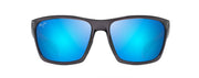 Maui Jim MAKOA DRK TRANS GREY BLUE HAWAII Wrap Sunglasses