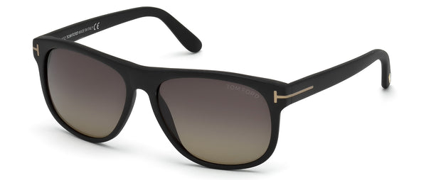 Tom Ford 0236 Olivier Polarized Rectangle Sunglasses