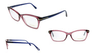 Tom Ford FT 5357 075 52 Square Eyeglasses