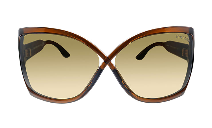Tom Ford FT 427 48J Oversized Sunglasses