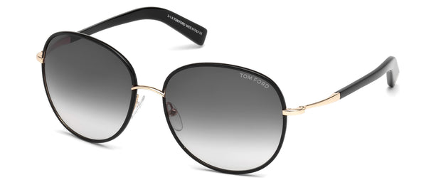 Tom Ford 0498 Georgia Round Sunglasses