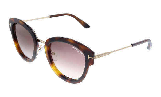 Tom Ford Mia FT 0574 Irregular Sunglasses