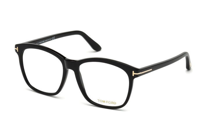 Tom Ford FT5481-B 001 Cateye Optical Blue Block Frames