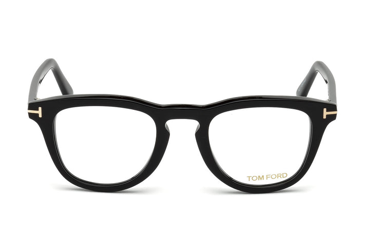 Tom Ford FT5488-B 001 Round Optical Blue Block Frames