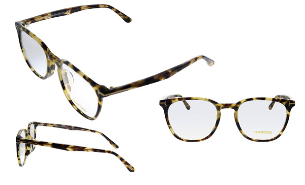 Tom Ford FT 5506F 055 Rectangle Eyeglasses
