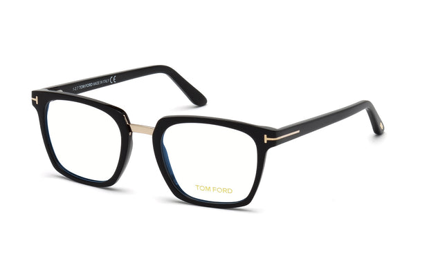 Tom Ford FT5523-B 001 Square Optical Frames