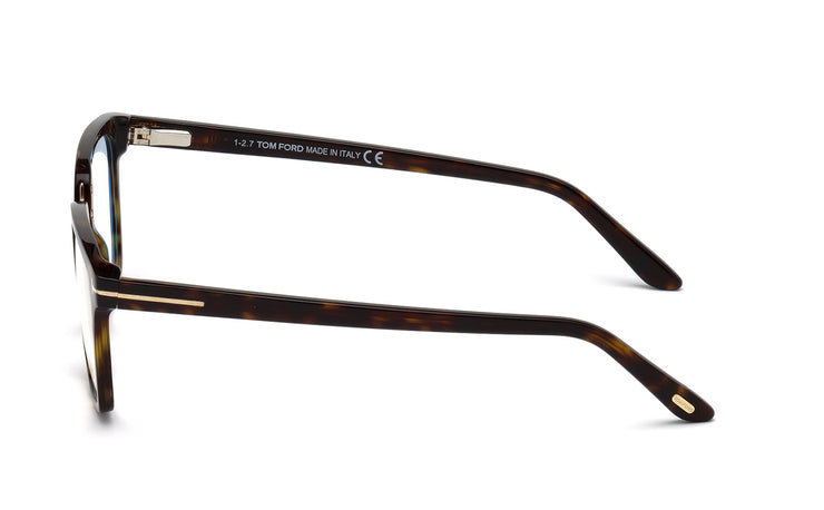 Tom Ford FT5523-B 052 Square Optical Blue Block Frames