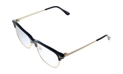 Tom Ford FT5546-B 001 Cateye Optical Frames