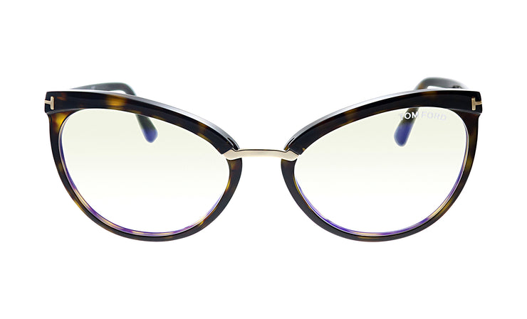 Tom Ford FT 5551B 052 Cat-Eye Eyeglasses