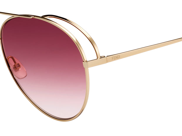 Fendi 0286 Aviator Sunglasses