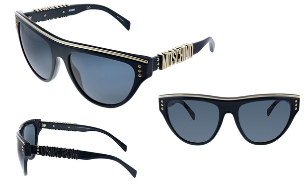 Moschino MOS 002S 807 IR Geometric Sunglasses