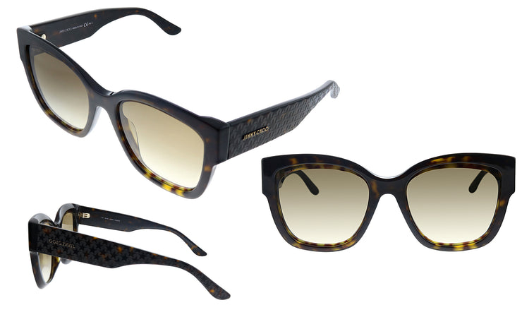Jimmy Choo JC ROXIE/S 086 HA Square Sunglasses