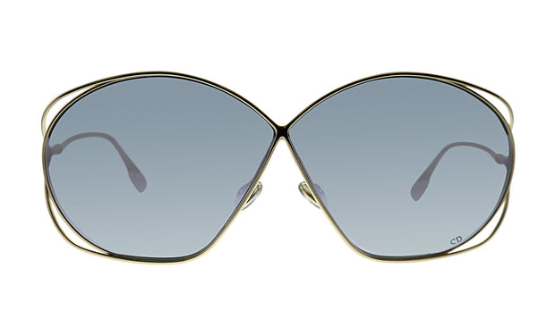 Christian Dior Stellaire2 83I 68 Geometric Sunglasses