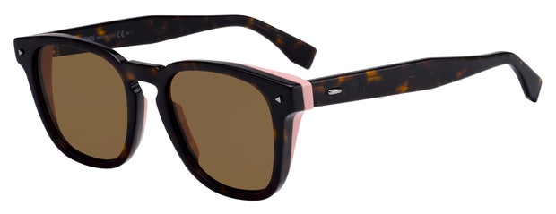 Fendi 0018 Rectangle Sunglasses