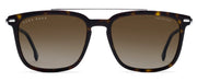 Men's Polarized Hugo Boss 0930 Rectangle Sunglasses