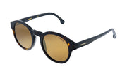 Carrera CA Car a165 Tortoise Plastic Round Sunglasses Gold Mirror Lens