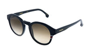 Carrera CA Car a165 Black Plastic Oval Sunglasses Brown Gradient Lens