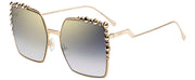 Fendi Can Eye FF 0259 J5G FQ Square Sunglasses