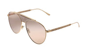 Jimmy Choo JC Ave BKU 2S Aviator Sunglasses