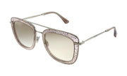 Jimmy Choo JC Glossy FWM HA Square Sunglasses