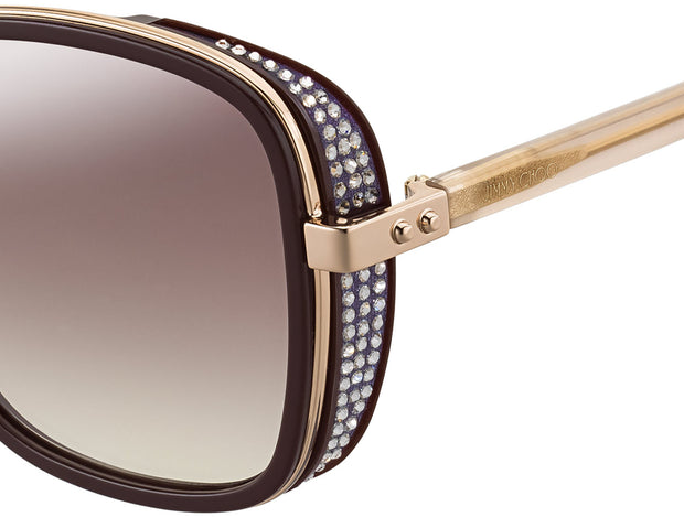 ELVA/S Women's Rectangle Sunglasses