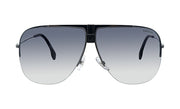 Carrera CA Carr a101 Black Metal Pilot Sunglasses Grey Lens