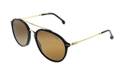 Carrera Carrera 171/S 807 K1 Black Gold Aviator Plastic Sunglasses