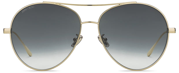 Jimmy Choo Noria Aviator Sunglasses
