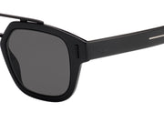 Dior Homme Dior Fraction 1 Rectangle Sunglasses