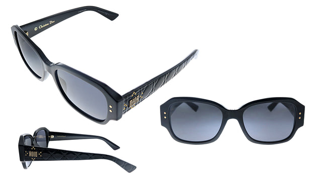 Lady Dior Stud S5 Rectangle Sunglasses