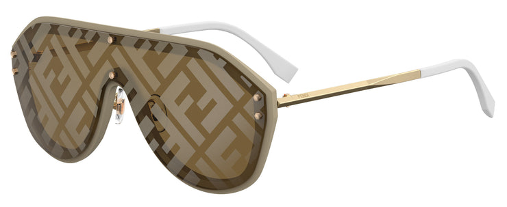 Fendi FF0039 Men's Shield Sunglasses